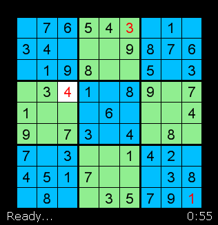 SudoKu Screen Shot